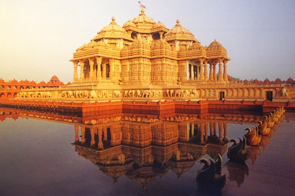 THE MAGNIFICENCE OF AKSHARDHAM