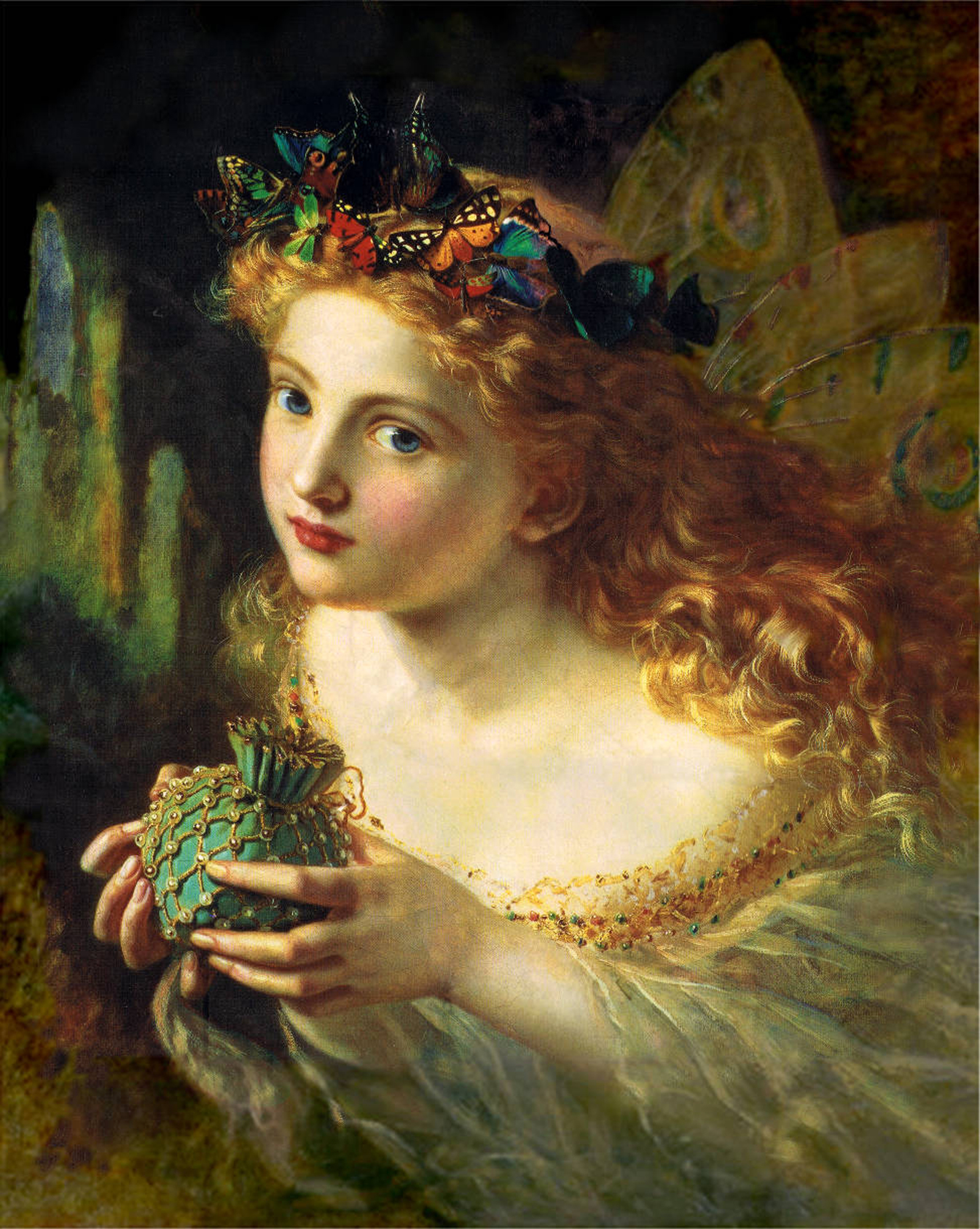 Sophie Anderson. Take the fair face of Woman