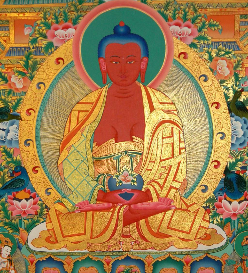 Buddha Amitabha, the awakened state of boundless light.