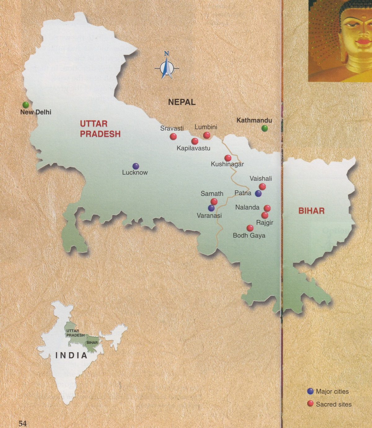India Buddhist Pilgrimage Detail Overview PLEASE INCLUDE