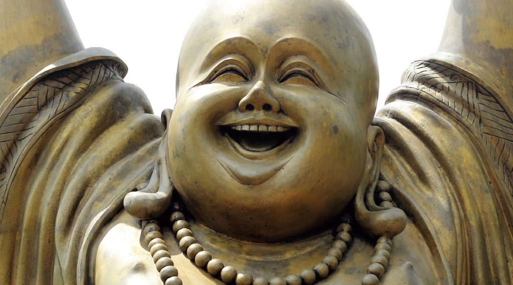 WHY THE BUDDHA LAUGHS