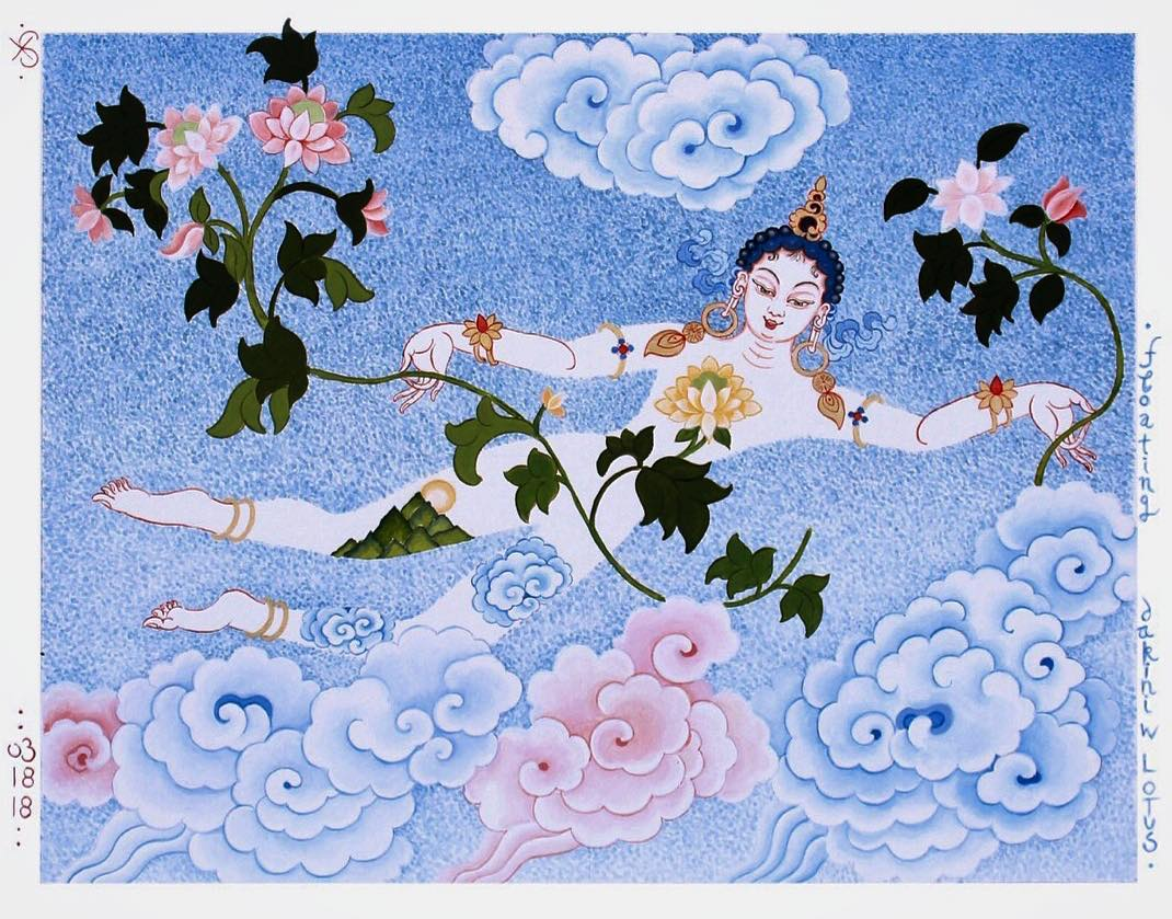 HOMAGE TO THE DAKINI – LEVEKUNST art of life