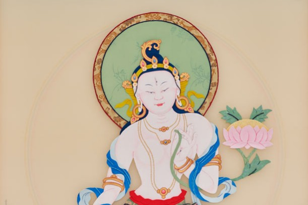 WHITE TARA IN THE NEW YORK CITY